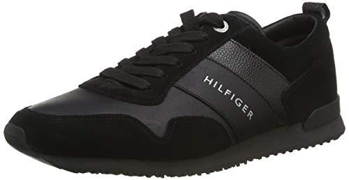 Tommy Hilfiger M2285Axwell 11C1, Zapatillas Hombre, Negro (Black), 42 EU