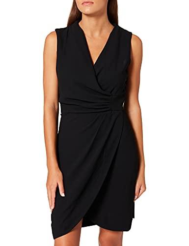 Morgan Robe Drapee SM Unie 212-renala.f Vestido, Negro, 42 para Mujer