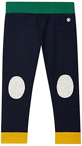 Petit Bateau A030H Pantalones de Vestir, Bleu/Multico, 3 años para Bebés