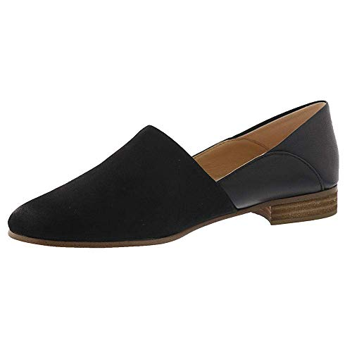 CLARKS Womens Easy Slip On Loafer Black