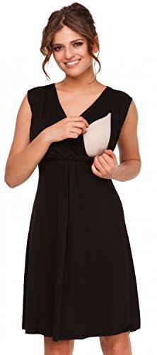 Happy Mama Boutique vestido de Mujer negro negro Medium