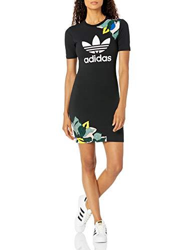 adidas Originals - Vestido para mujer - Negro - X-Small