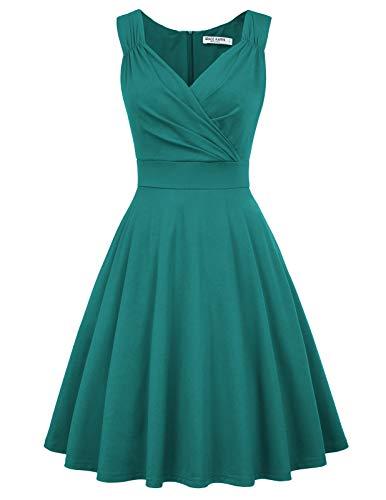 GRACE KARIN Mujer Vestido Corto Elegante para Fiesta Cóctel M CL010698-11
