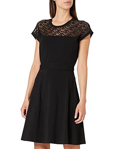 Only ONLBILLA S/L Lace Dress JRS Vestido, Negro, XS para Mujer