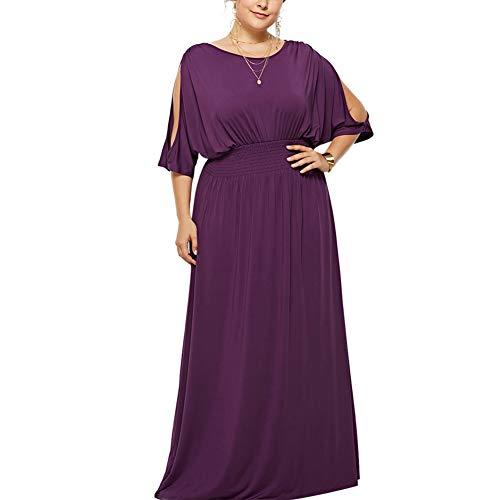 Lover-Beauty Vestido Largo de Fiesta Cóctel Boda para Mujer Dama de Honor Vestido Noche Elegante de Tirantes