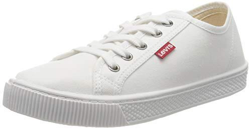 Levi's Malibu Beach S, Zapatillas Mujer, Blanco (B White 50), 39 EU