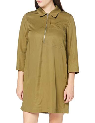 United Colors of Benetton (Z6ERJ Vestito Vestido, Burnt Olive 22Y, M para Mujer