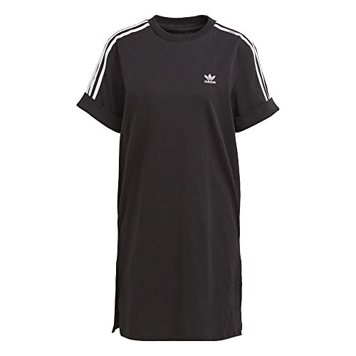 adidas Vestido de manga corta. Negro XS