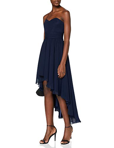 Swing Vestido Mujer, Sina, Azul (schwarzblau 300), 36
