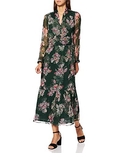 Derhy Tendance Vestido, Verde, 38 para Mujer