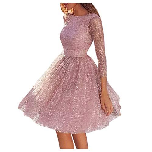 Fossen MuRope Vestidos Mujer Invierno Rebajas Informal Vestidos de Fiesta Mujer Cortos Elegantes Juveniles Vintage Bautizó, Chaqueta Falda Largos