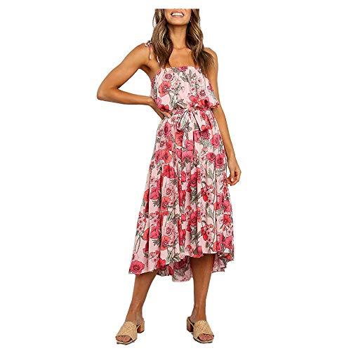Vestidos Mujer Verano 2020 - Vestidos para Mujer Elegantes Fiesta Comunion - Vestido Fiesta Mujer Talla Grande Playa