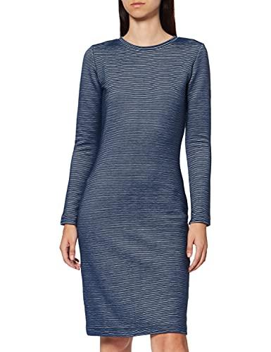 BOSS Damalin Vestido, Azul (Dark Blue 407), Large para Mujer