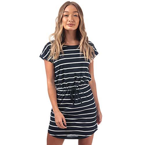 Only Onlmay S/s Dress Noos Vestido, Multicolor (Night Sky Stripes: Primo Stripe Cl. Dancer), 42 (Talla del Fabricante: Large) para Mujer