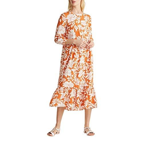 Esprit 030ee1e343 Vestido,Naranja ( 811/Rust Orange 2 ) , 38 para Mujer