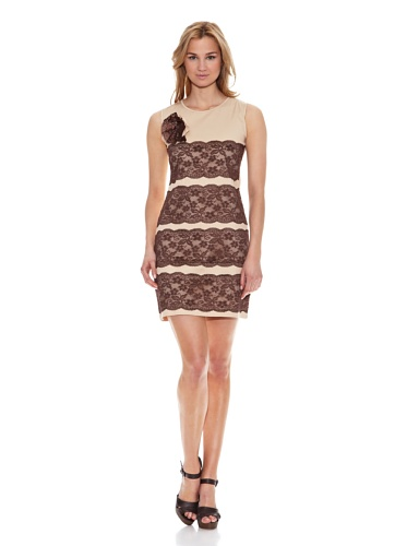Almatrichi Vestido Beautiful Beige ES 36