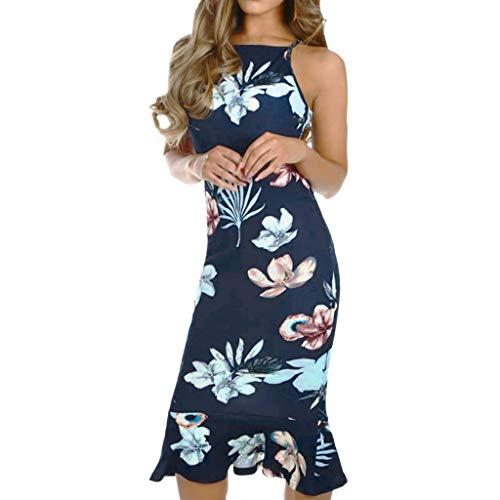 Vectry Vestidos Elegantes Vestidos De Playa Niña Vestidos Vaqueros Mujer Vestidos De Fiesta Mujer Embarazada Vestidos con Encaje Vestidos Tallas Grandes