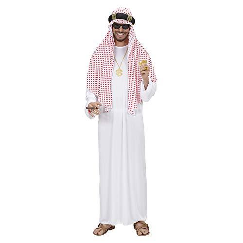 Árabe Sheik Traje Extra Grande para el Manchester City Vestido de Lujo , color/modelo surtido