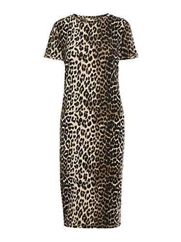 Vero Moda VMGAVA SS AOP Dress VMA Vestido, Azul Oscuro, XS para Mujer