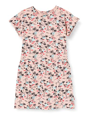 Noppies G Dress SS Claiborne AOP Vestido, Multicolor (Impatience Pink P029), 62 para Bebés