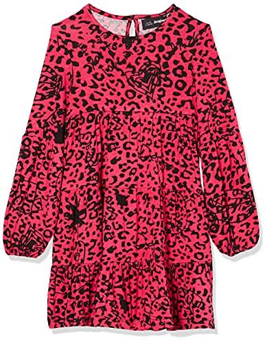 Desigual Vest_Laura Vestido Casual, Rojo, 11-12 Años para Niñas