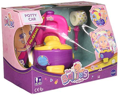 The Bellies - Bellies Potty Car, Accesorio para Niños y Niñas a Partir de 3 Años, Multicolor, (Famosa 700015140)