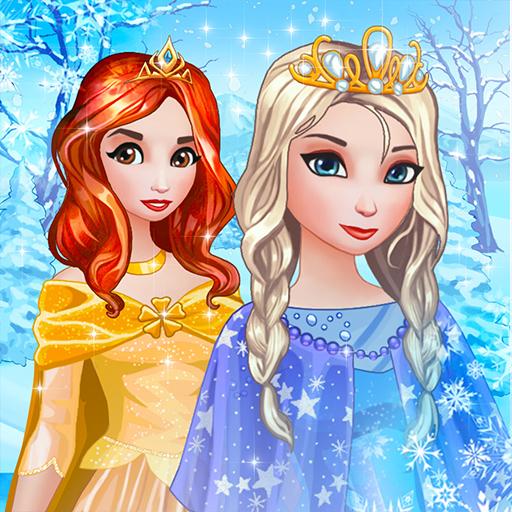 Vestir Princesa de Hielo - Juegos de Chicas